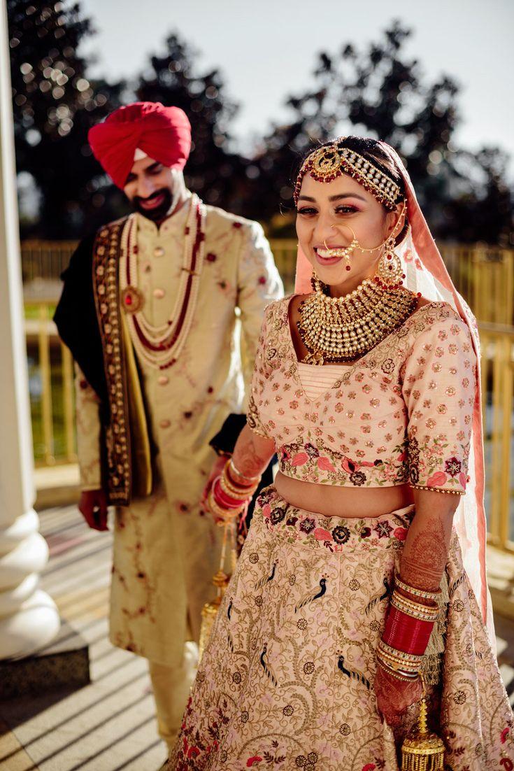 Pin On Bay Area Indian Hindu Sikh Fusion Wedding