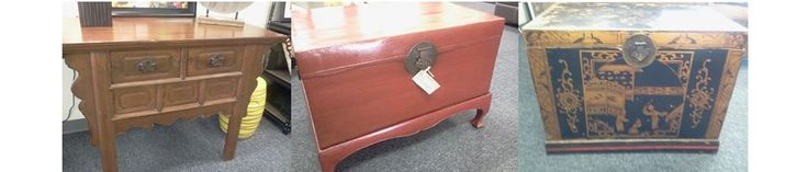 It is rare that I bring in antiques, I came across these three great pieces at fantastic prices that I just knew you all would love. These exquisite pieces are authentic Asian Antiques, they would add so much character and function to your home! Altar Table, Only $399 (retails for $700+) Red Leather Trunk with Stand, Only $249 (retails for $500+) Black Hand Painted Trunk, Only $249 (retails for $500+) See these and more Asian artifacts this Saturday at our open house from 3 p.m. to 7 p.m.!