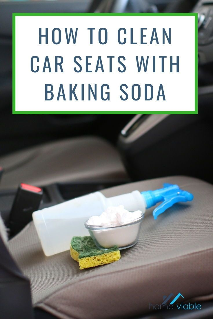 How to clean car seats with baking soda clean car seats