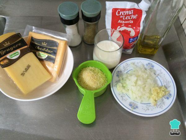 Salsa Tres Quesos Fácil Receta Recetas De Salsas Salsas Y Aliños Salsas Para Pastas