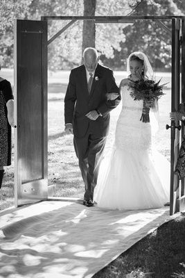 early fall wedding
