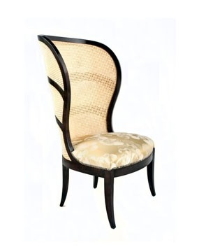 SWEDISH ART DECO OCCASIONAL CHAIR WITH WOVEN CANE BACK Hand Crafted And  Bench Made Mid Century Swedish Art Deco High Back Occasional Chair Repru2026 |  Pinteresu2026