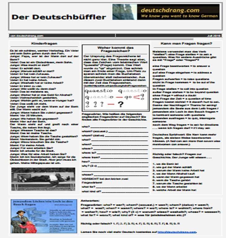 114 best german language images on Pinterest   German language ...