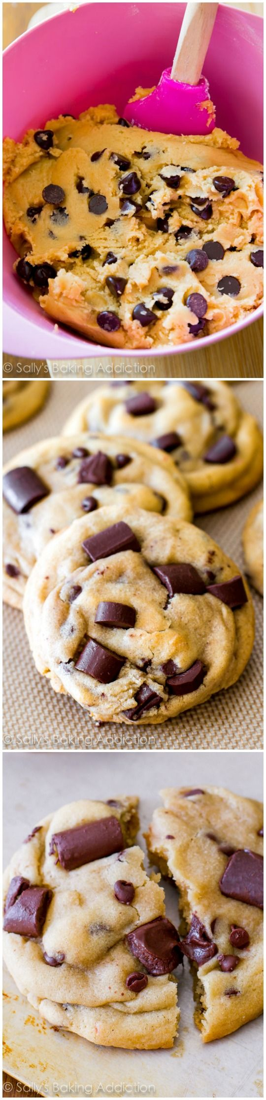Chewy Chocolate Chunk Cookies have been pinned on Pinterest over 1 MILLION times. My most popular recipe!