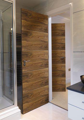 Walnut Lara Internal Door #walnutdoors