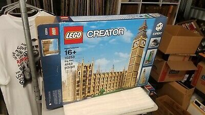 10253 Big Ben Factory Box / Karton NUR leere LEGO Toy Rare Retired Set Kit #affli …   – Lego LOVE