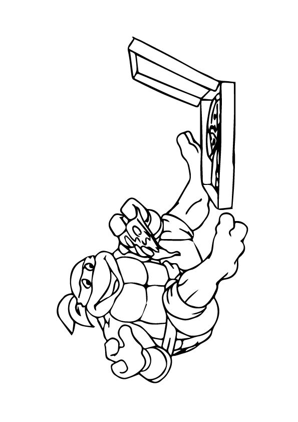 25 fun ninja turtles coloring pages your toddler will love to do - Coloring Books For Toddlers