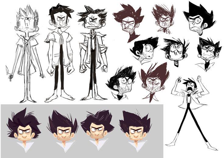 Best Character Design Portfolio : Best visual development portfolios images on pinterest