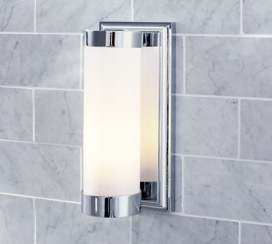 Bathroom Tube Sconces 34 best wall sconces images on pinterest | lighting ideas, modern