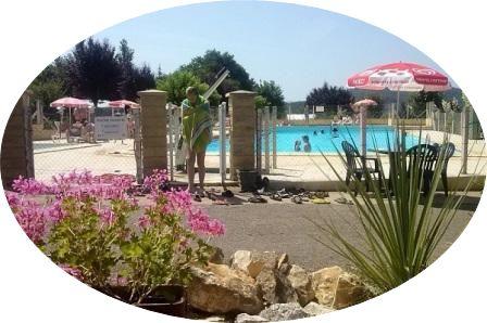 Zwembad camping Le Mondou, Dordogne