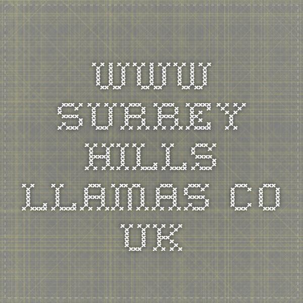 www.surrey-hills-llamas.co.uk