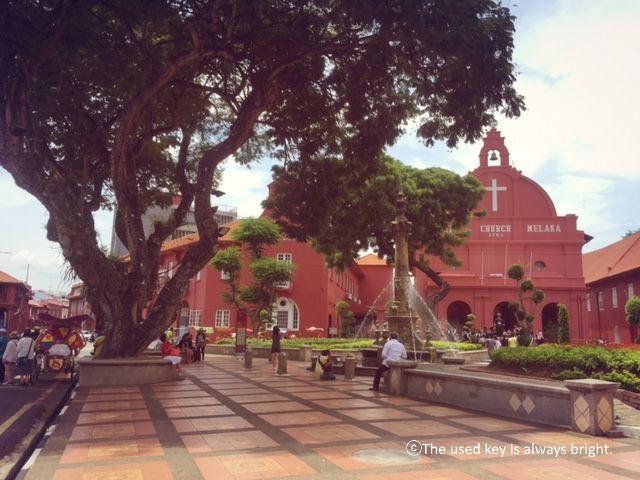 マラッカのオランダ広場