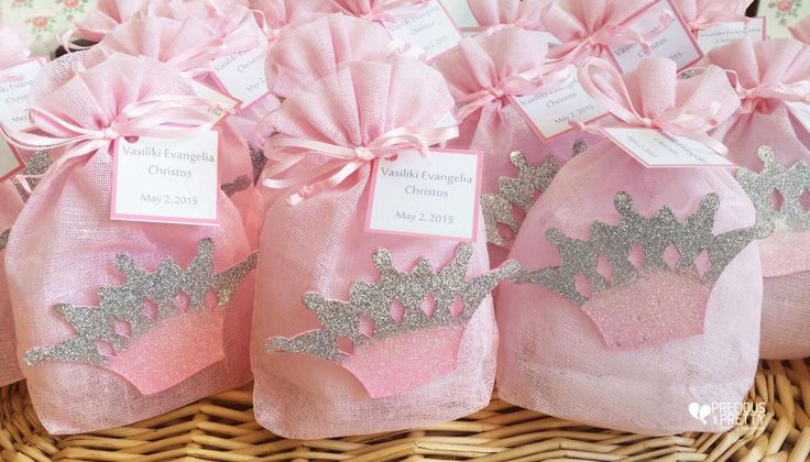 Μπομπονιέρες βάπτισης κορώνα! Greek baptism favors for girl! #vaptisi #mpomponieres #koritsi #baptism #greekfavors #girl #preciousandpretty