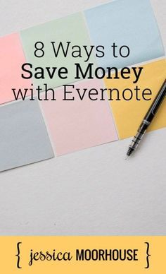 Evernote is not just just a useful note-taking tool; it's also a very useful (and easy!) money-saving tool.