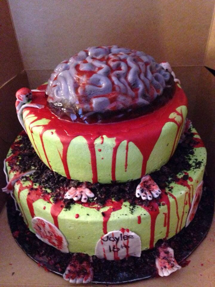 14 Best Images About Baby Zombie Cake On Pinterest Scary