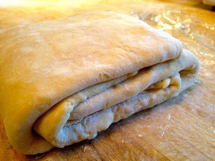 Homemade Danish Pastry Dough (quick method)