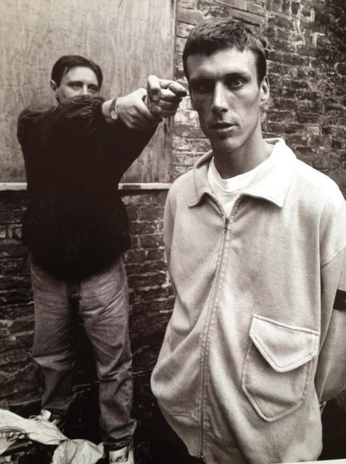 Shaun Ryder and Bez