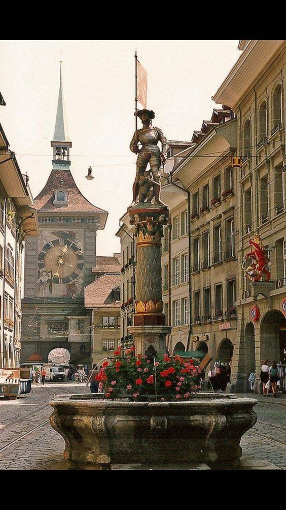 In Bern, Switzerland.