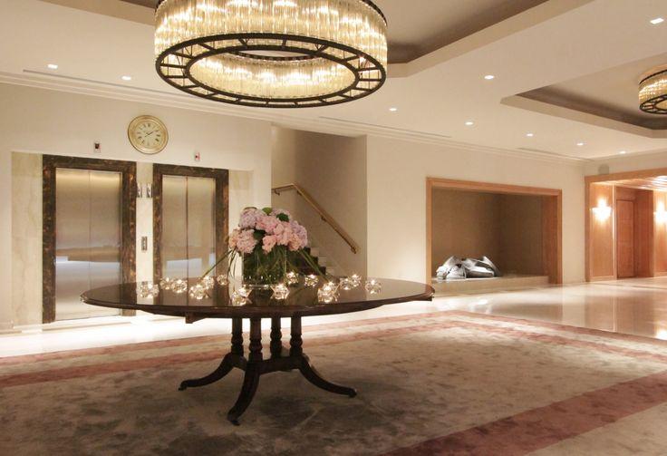 "5 star hotel ""du lac"" / Ioannina - Greece /  lobby   / interior designer Sissy Raptopoulou"