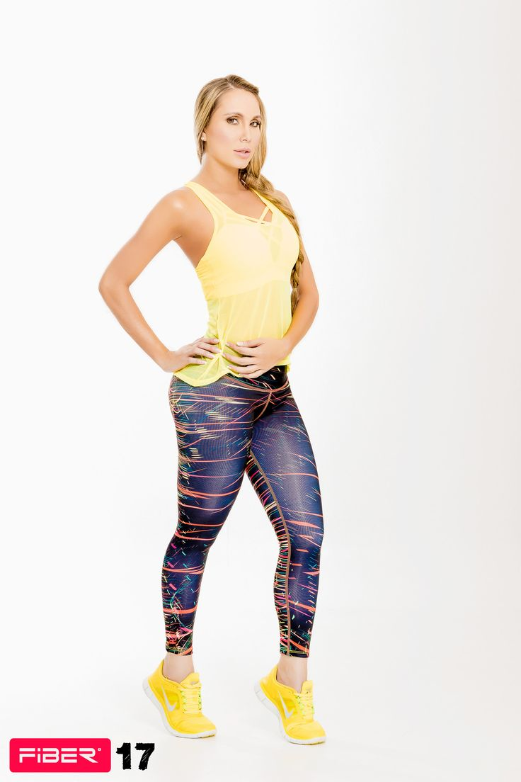Colorful Print Leggings - 17