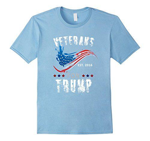 Men's Veterans for Trump 2016 Funny Politics T-shirt 2XL ... https://www.amazon.com/dp/B01LGBLABY/ref=cm_sw_r_pi_dp_x_Jei7xb79ZXYSS