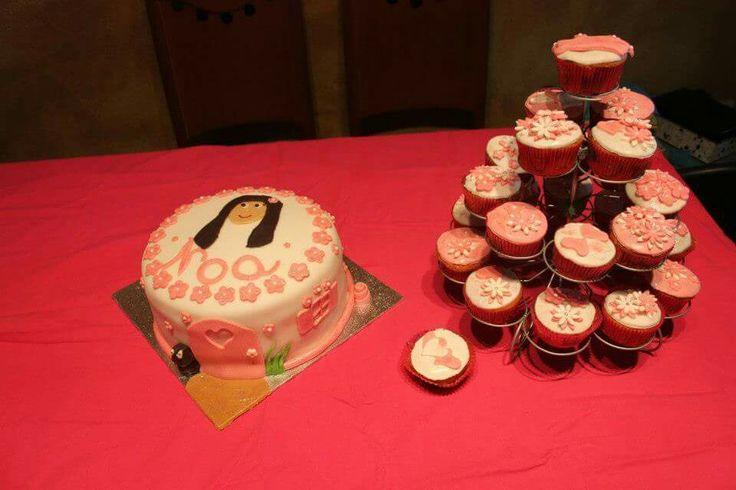 Galletas y cupcakes para Noa