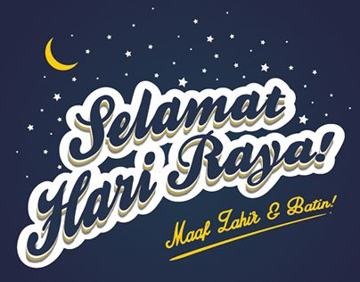 "Check out new work on my @Behance portfolio: ""Selamat Hari Raya"" http://on.be.net/1NRzH6J"