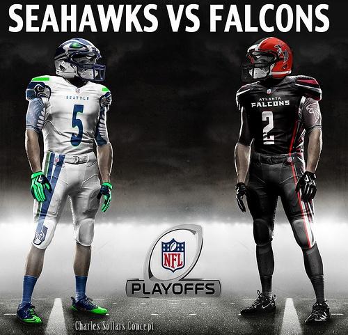 seahawks vs falcons 13 #falcons #atlanta  #settle #seahawks #playoffs #nfl #nike