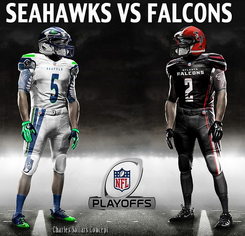 seahawks vs falcons 13 #falcons #atlanta  #settle #seahawks #playoffs #nfl #nike