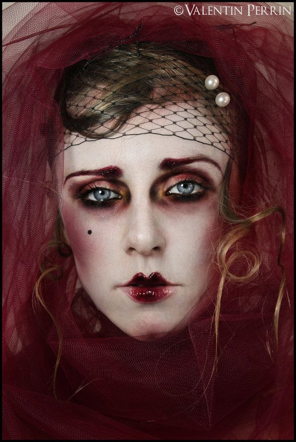 Fille de Joie Makeup by ValentinPerrin.deviantart.com on @deviantART