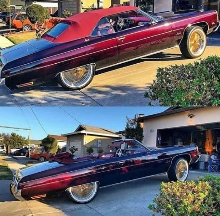 Pin By Darrick Spears On 73 Caprice Classic Donk Cars Chevrolet Impala Kustom Cars