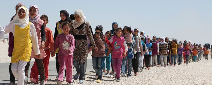 In a new survey conducted among Syrian refugees, the question was put to them of whether they sympathize with ISIS, and while the percentage is small, the total number is enormous. From the Blaze: …