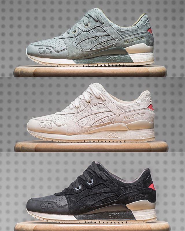 Asics Gel Lyte III #asics Mote for joggesko, Asics joggesko  Sneakers fashion, Asics sneakers