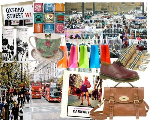 Où faire du Shopping à Londres?