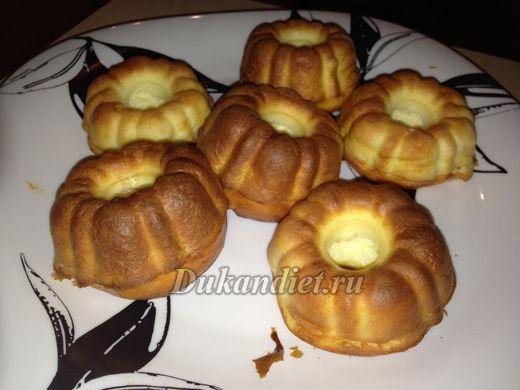 Творожные кексы дюкан