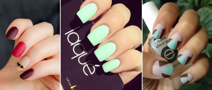 Summer Nail Trends 2014 Matte Colored Nails