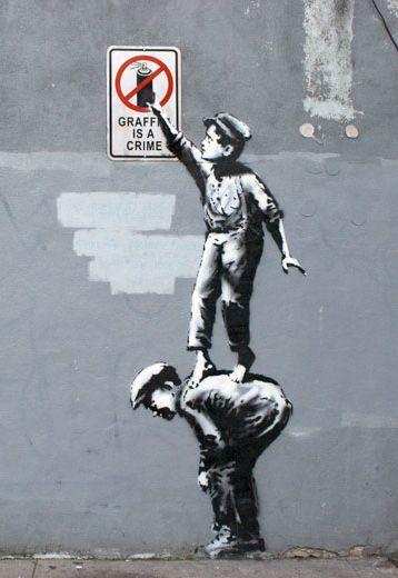 Banksy, NYC, 2013