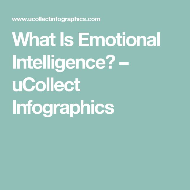 What Is Emotional Intelligence? – uCollect Infographics