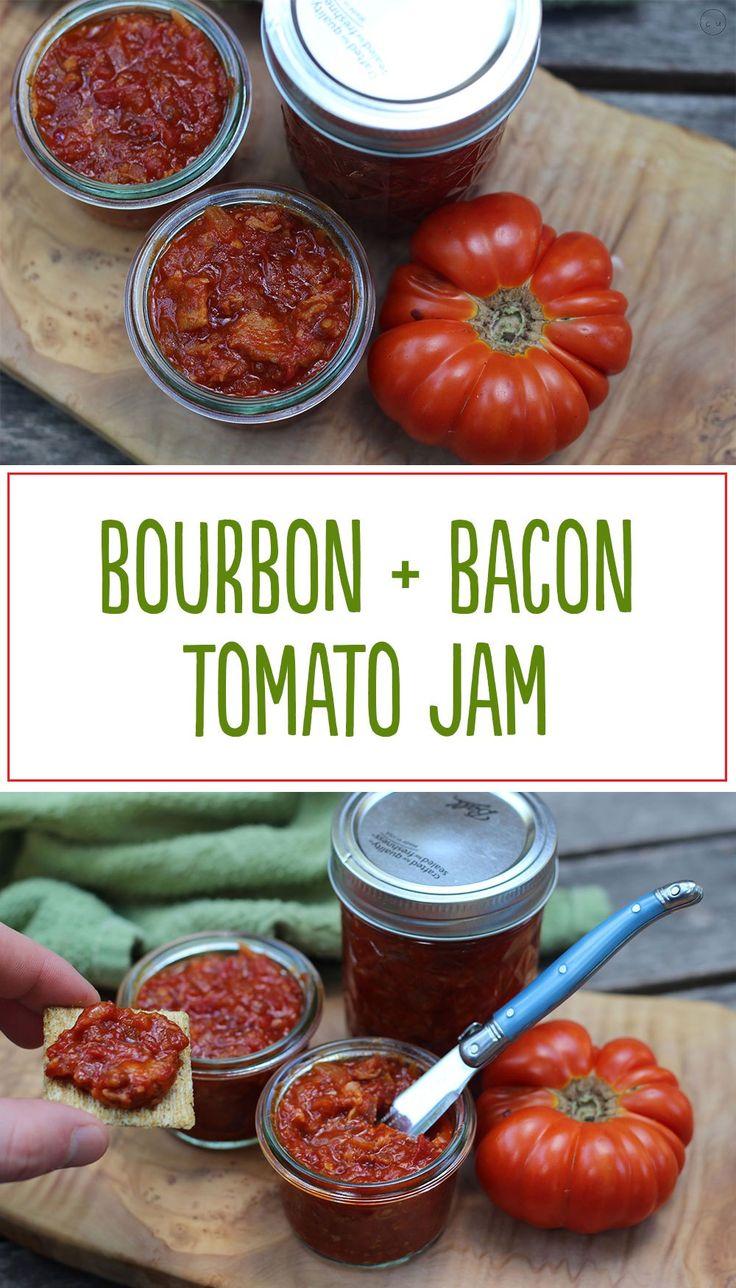 bourbon, bacon + tomato jam   cody uncorked