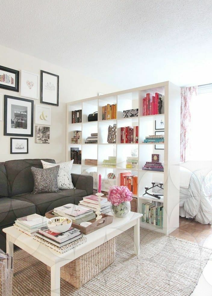 14 Stunning Bedroom Room Divider Couch Ideas Small Apartment