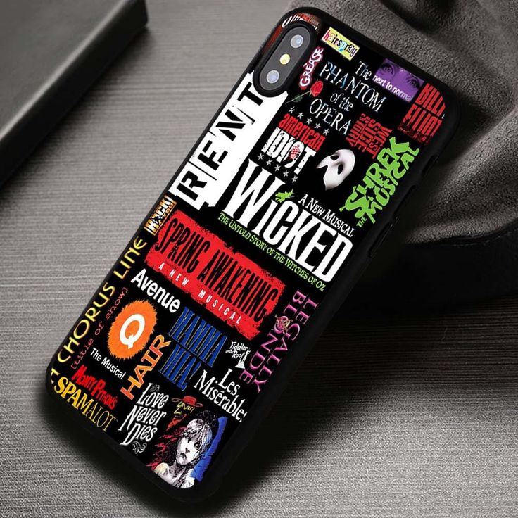 Musical Collage Broadway Wicked Quotes - iPhone X 8  7 6s SE Cases & Covers #music #broadwaymusical #wicked #iphonecase #phonecase #phonecover #iphone7case #iphone7 #iphone6case #iphone6 #iphone5 #iphone5case #iphone4 #iphone4case #iphone8case #iphoneXcase #iphone8plus