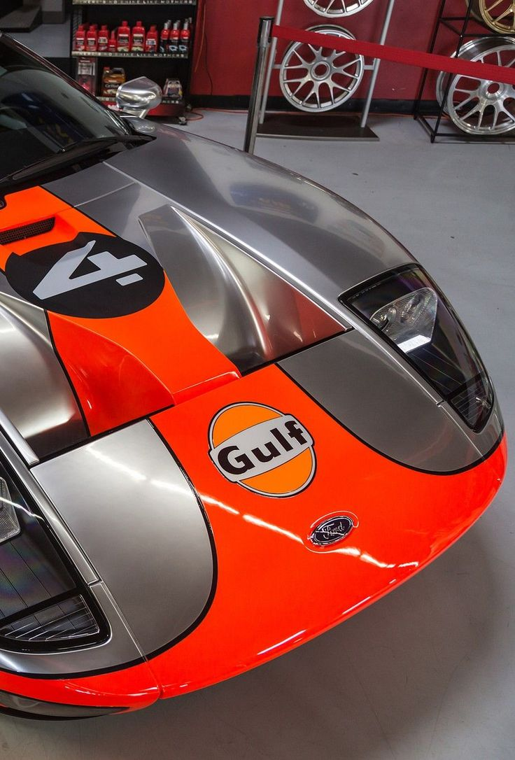 Ford GT Gulf livery                                                                                                                                                                                 More