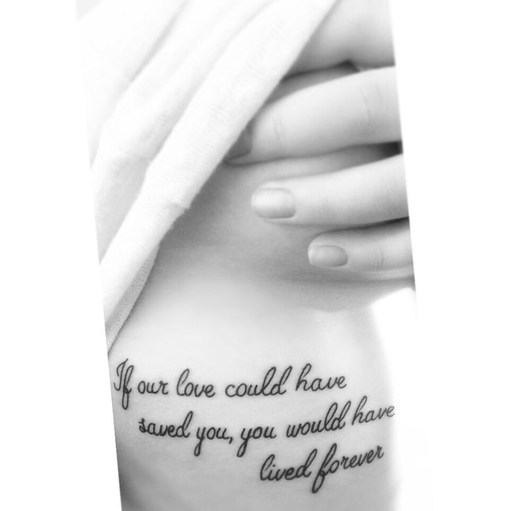 Tattoo Cursive Black Rip Birds Quote For Every: Top 25 Ideas About Meaningful Tattoo Quotes On Pinterest
