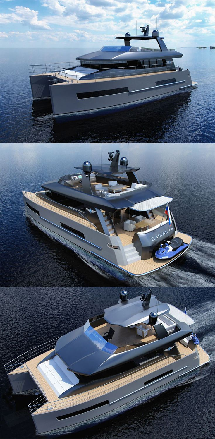 The Baikal 16 catamaran packs a plentiful amount of creature comforts on its dual-hull design. Both the exterior and interior of the catamaran have been designed with state-of-the-art yacht-building trends and subtle executed, stylish details... READ MORE at Yanko Design !