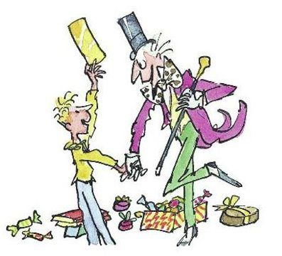 Charlie and the Chocolate Factory By Quentin Blake.
