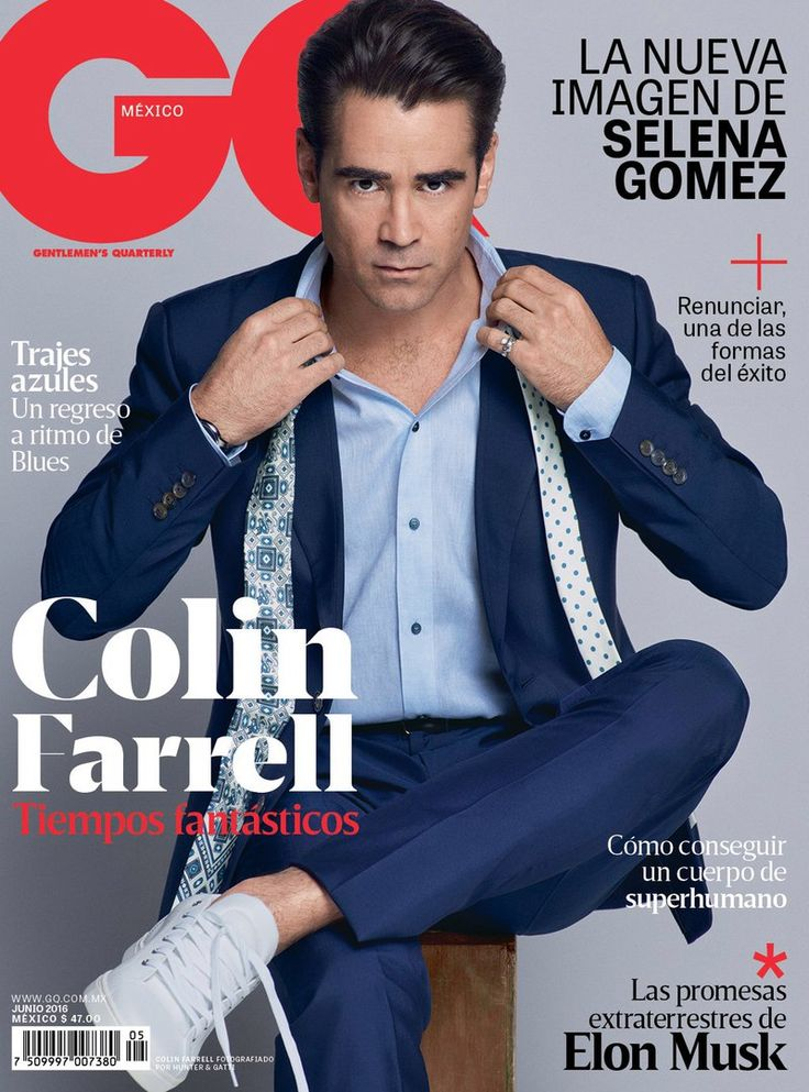 4023 best cover him images on pinterest magazine covers cover colin farrell para gq mxico junio 2016 por hunter gatti fandeluxe Choice Image