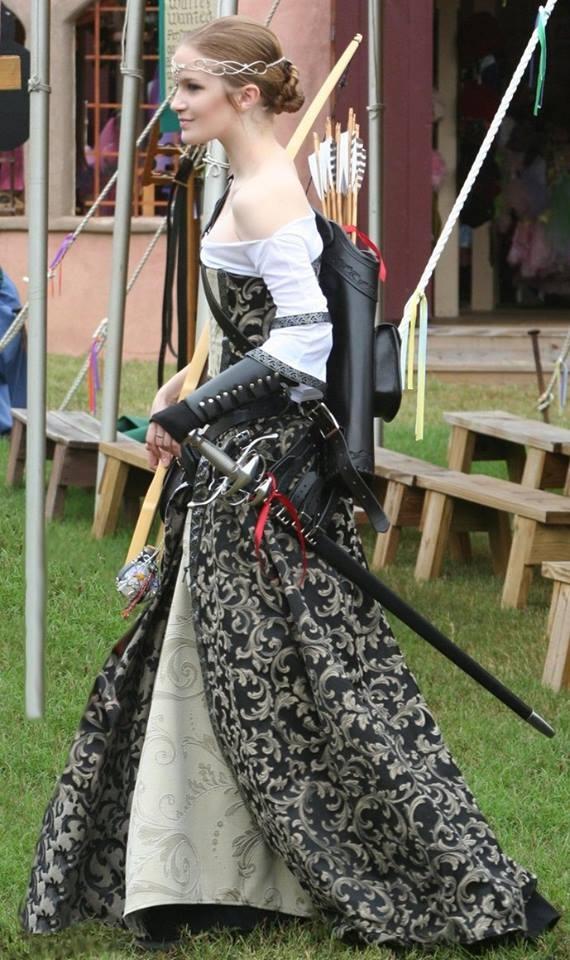 Beautiful Archer's Costume
