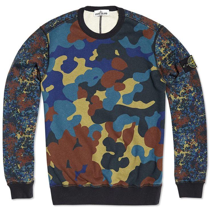 Camo Sweatshirt by Stone Island