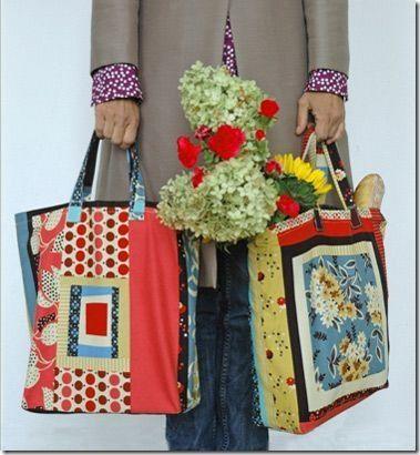 market Tote bag Pattern