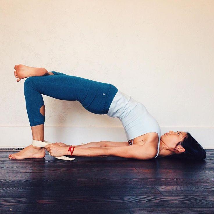 #yoga #asanas - sethu bandasana - el puente